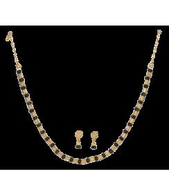 Filigrana y Ónix collar y pendientes. joyas precolombinas eliana tovar