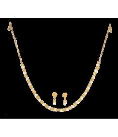 Conjunto collar y pendientes Filigrana y Perla. Joyas Precolombinas Eliana Tovar